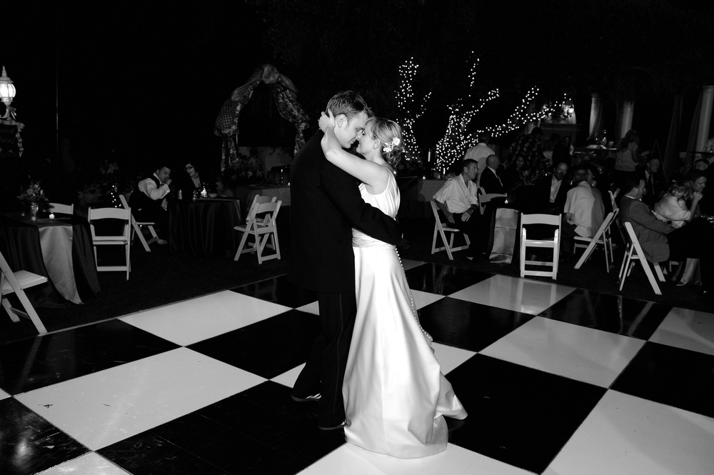 Melissa + Tyler's first dance  Photograph by Moments Found Photography