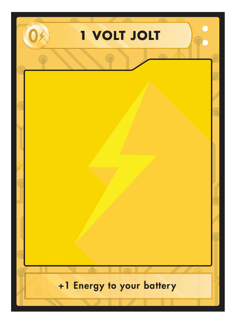 Energy Cards  These cards are played during your turn and give you the ability to use more than the standard 5 energy per turn