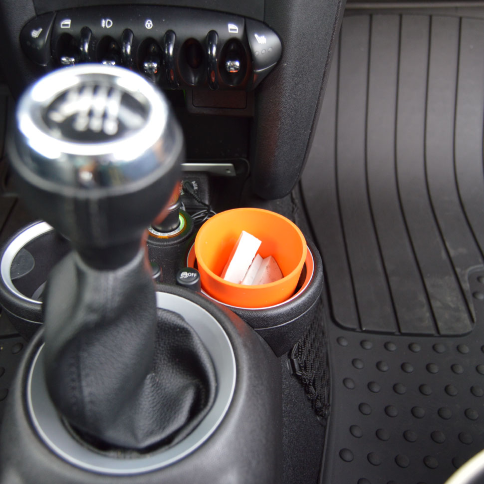 SURF WAX STORAGE & RECYCLING CONTAINER - - Fits perfectly in your cupholder- Store those extra bits of wax from each surf session- No more melted wax in your car