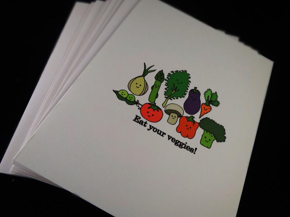 The Original Veggie Cards