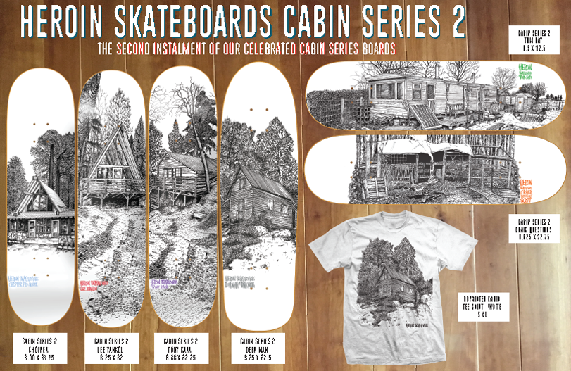 Heroin Cabin Series 2 catalog page.png