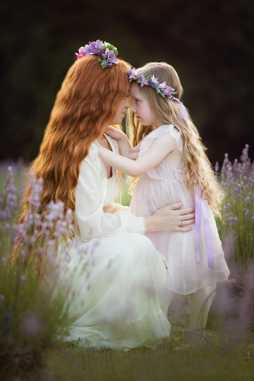 Mother Daughter Family Photography