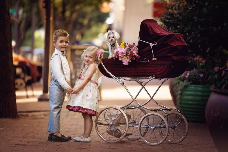 Plano Child Modeling Photography