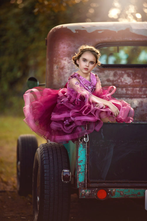 Child Modeling Photography Dallas