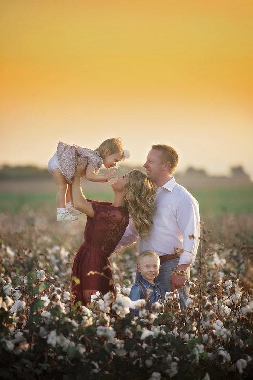 Formal Family Portraits Prosper, Texas