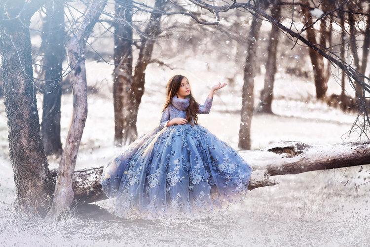 Mystical Child Modeling Photography