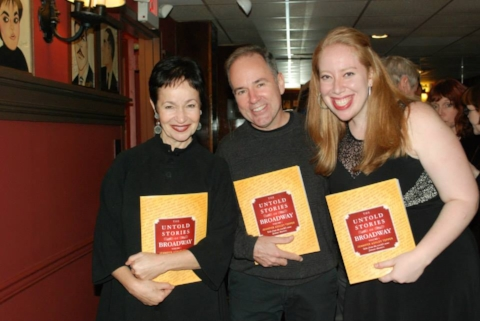 "With Lynn Ahrens and Stephen Flaherty celebrating the release of ""The Untold Stories of Broadway"""