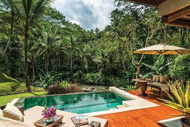 Four Seasons Ubud Bali is on our minds ... @fsbali #jetsett