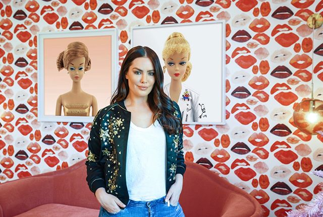 Woke up to the most amazing article and interview in @Forbes about my recent #art install with @KylieJenner ! 🧡  Thank you for the interview @CourtneyPorkolab! xo #BeauDunnArt 📸 by @Anaisganouna