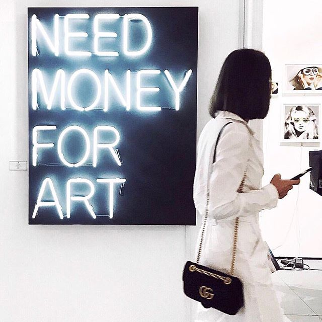 Amazingly successful week at #ArtBasel with @Art_angels 🖤 Thank you all for coming out to support and posting your fab pics of my work.. Keep them coming ! #NeedMoneyForArt #BeauDunnart 📸 @Gobrittany