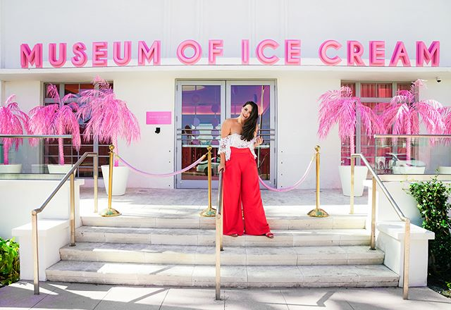 Spent a magical afternoon at the @Museumoficecream courtesy of @Americanexpress 🍦 #AmexPlatinum #AmexAmbassador 📸 @Anaisganouna