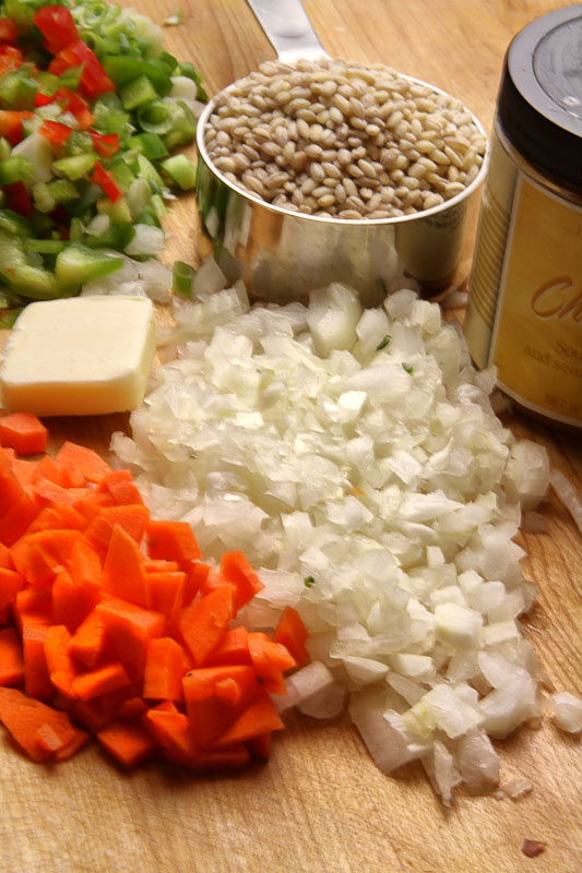 pilaf ingredients by .