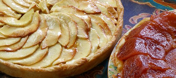 Tart aux Pommes et Tarte Tatin