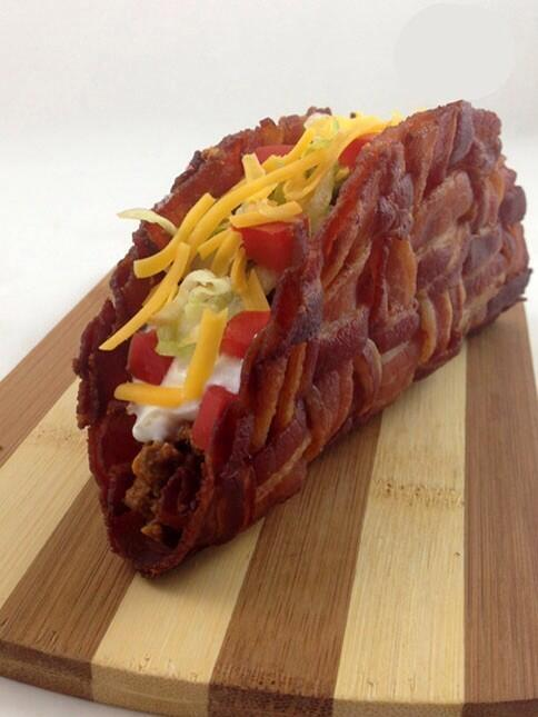 bacon taco TV
