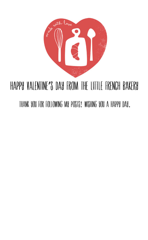 Little French Bakery Valentine