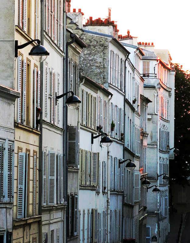 Montmartre, Paris at Dusk