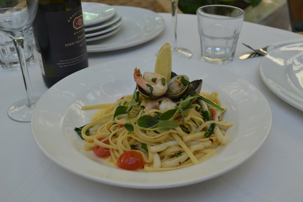 Mains Option - Seafood Linguini