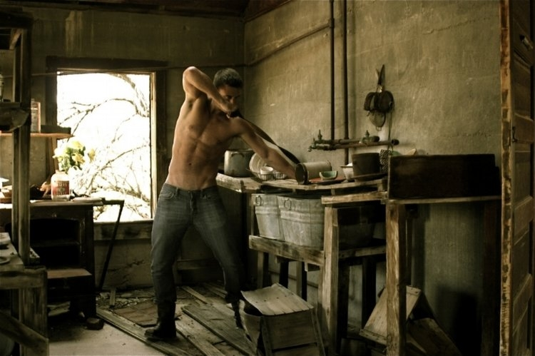 Model: Jay - Taken at a 1800 Gold Mine - Kitchen Are