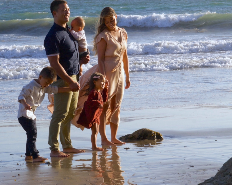 Family Portrait Session - Malibu Beach, CA
