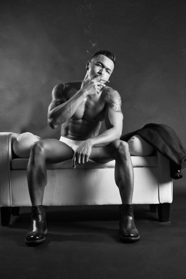 Model: Oscar Fajardo Jr. Pro OCB / WNBF / Men's Physique Pro
