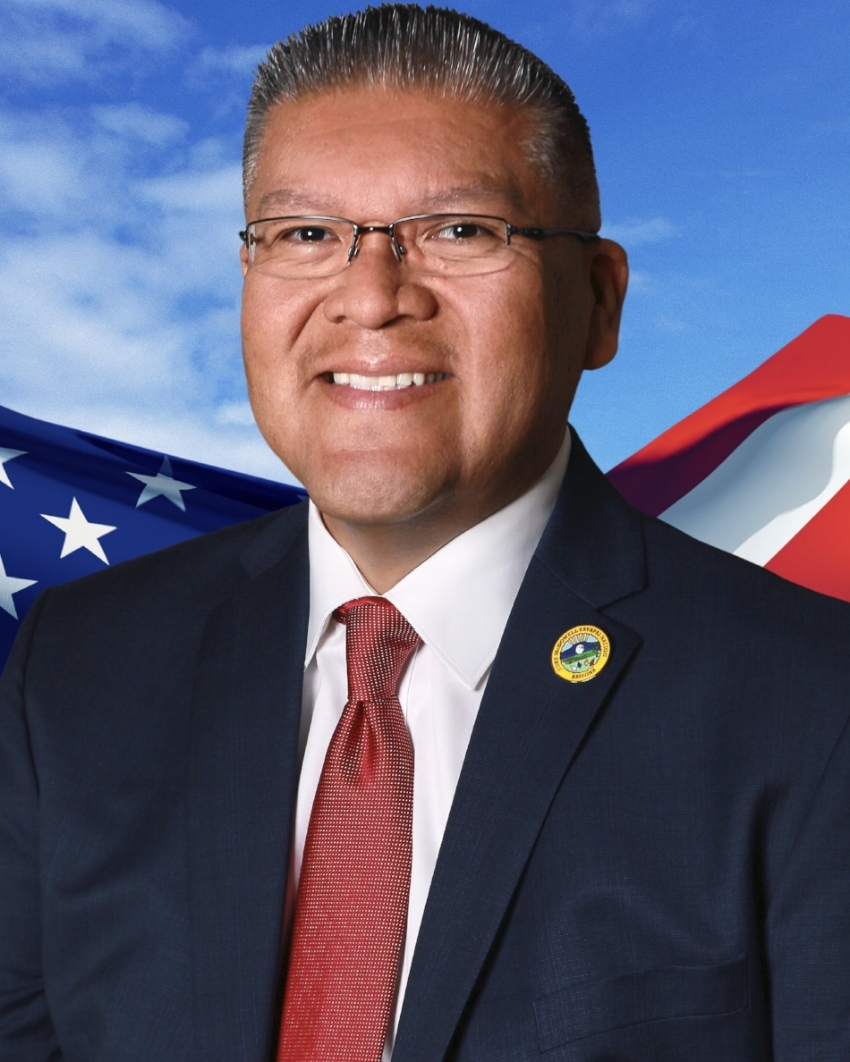 Portrait: Vice President of the Yavapai Nation 2018