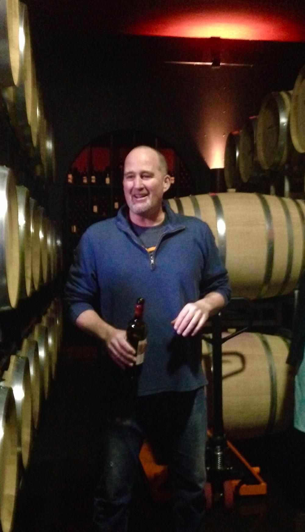 Owner/winemaker at JM Cellars, John Bigelow