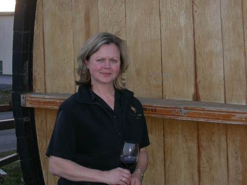 Cougar Crest head winemaker, Debbie Hansen