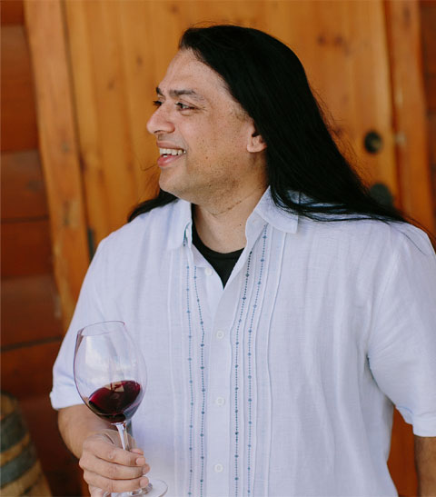 Head winemaker at Rasa and super smart man, Billo Naravane