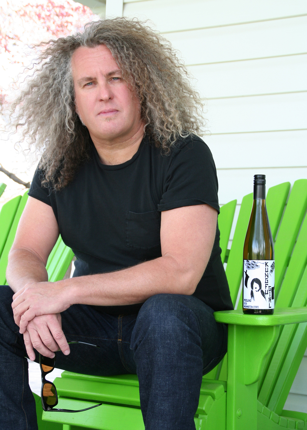 Charles Smith, with his King Fu Girl Riesling