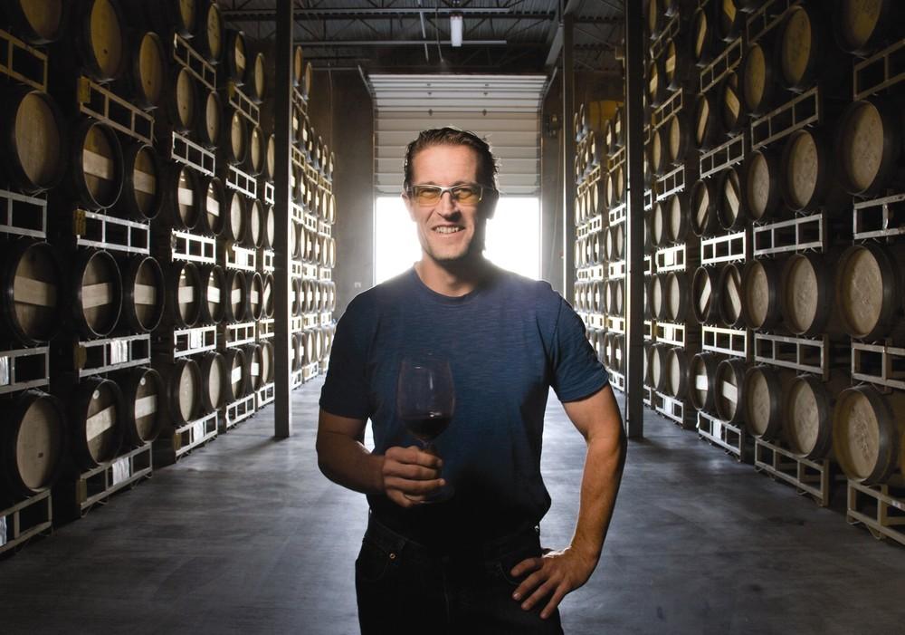 Head winemaker at Northstar, David 'Merf' Merfeld, crafts some impressive Merlots