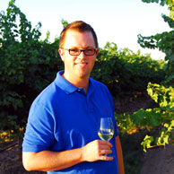 Head winemaker at Airfield Estates, Marcus Miller