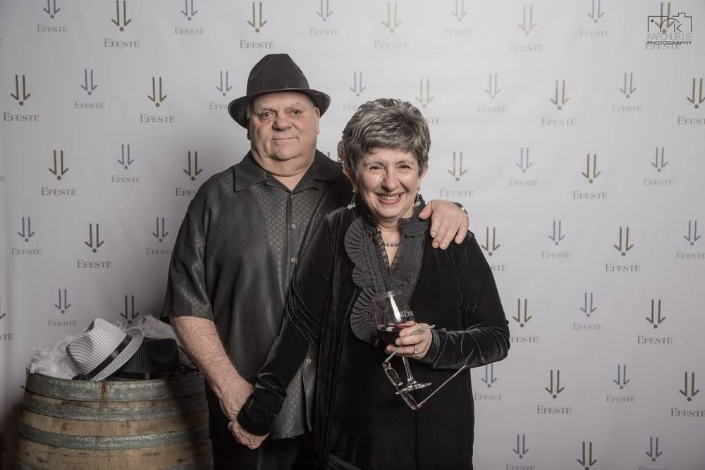 Daniel Ferreli with his wife, Helen, has a lifetime of experience in wine. He had an amazing wine story that I would love to share with you. (photo by Richard Wood)