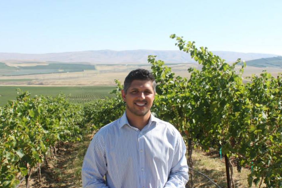 Joe Cotta serves as the vineyard manager of the famed Cold Creek Vineyard