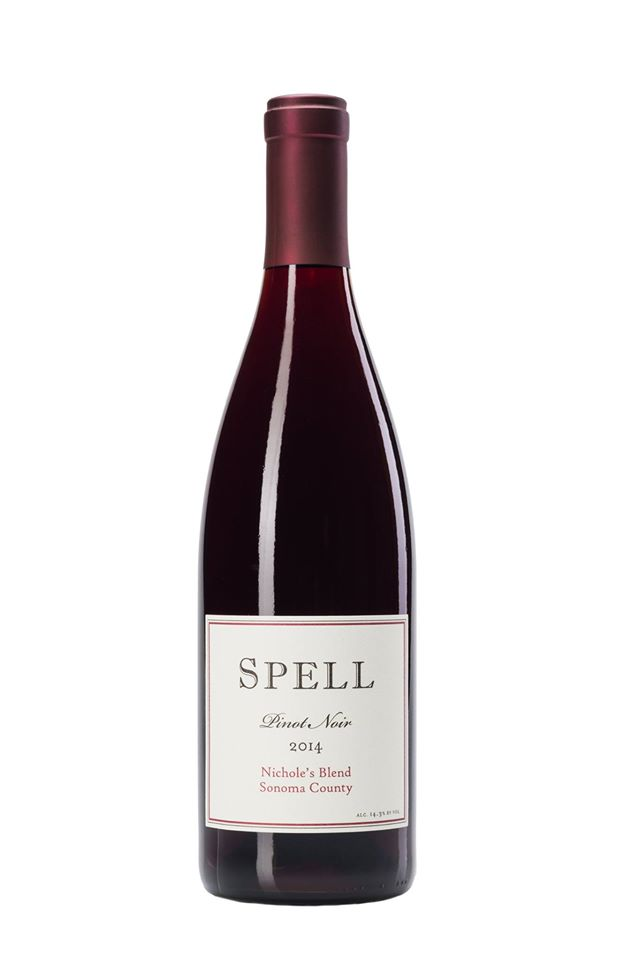 The 2014 'Nichole's Blend' Pinot Noir by Spell Estate and head winemaker, Andrew Berge, was a fantastic and rich new release wine