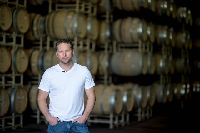 Great picture here of Joe Shebl, head winemaker at Renwood, in his barrel room (photo by Sacramento Bee).
