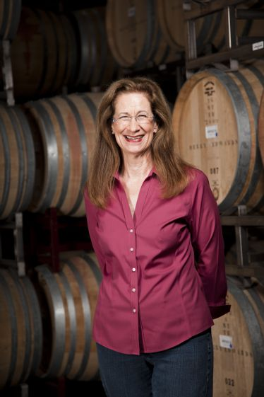 Great picture here of Merry Edwards, one of the great North American winemakers.