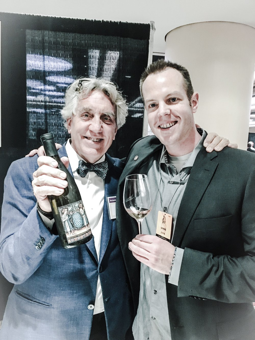 A few months back I had the wonderful chance to catch up with the man himself, John Kongsgaard, in person. He was just a delight to talk wine with.