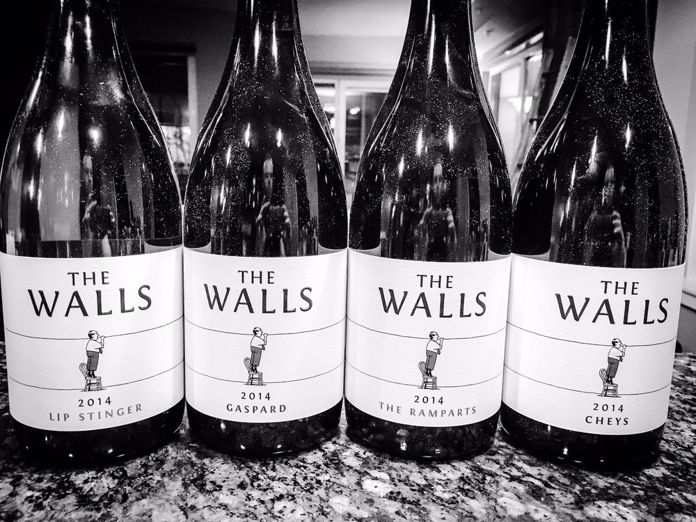 Awesome new lineup of wines by The Walls