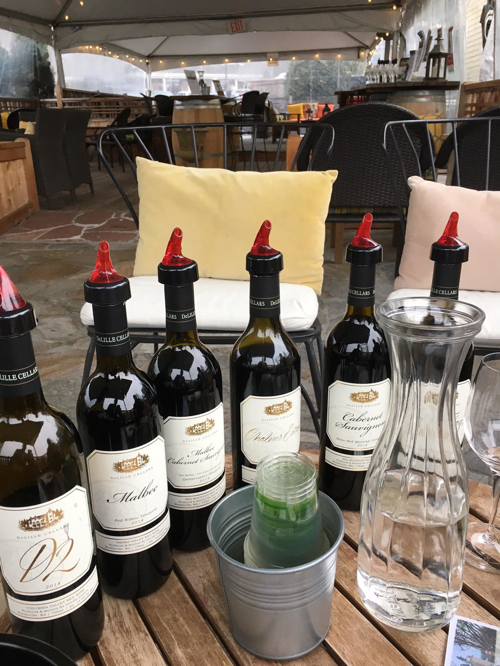 Aweomse new red wine lineup from DeLille Cellars