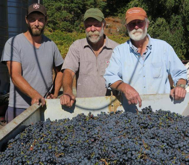 Great photo here of the Smith family during their harvest