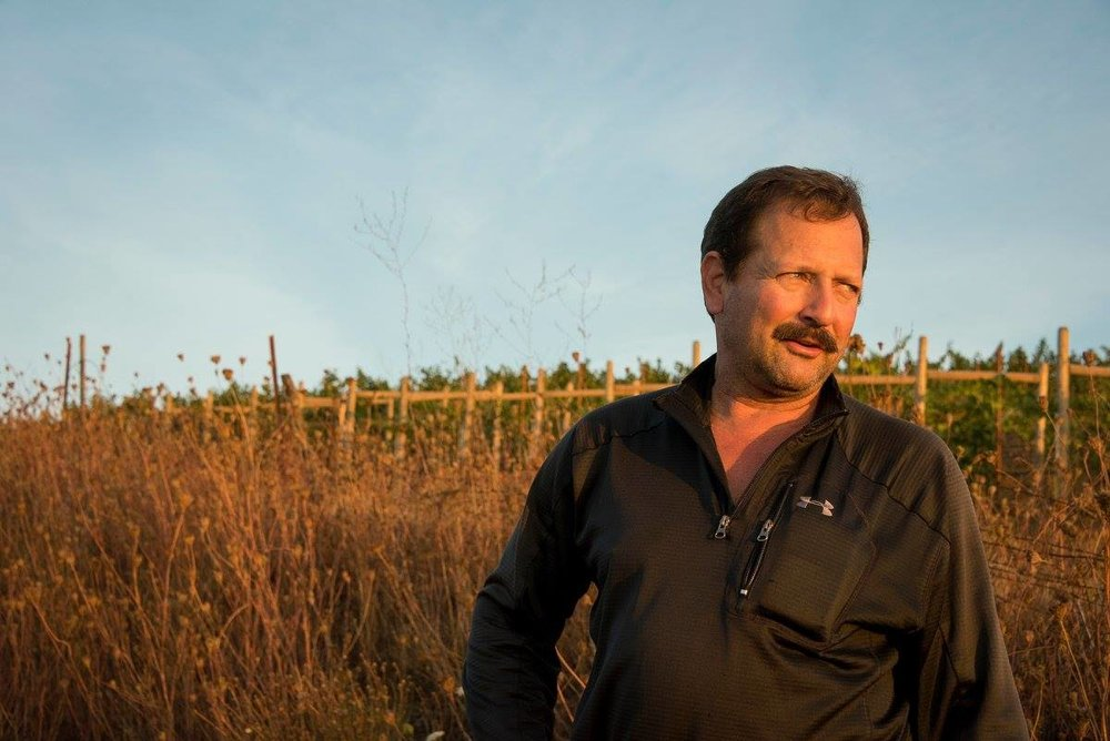 Cristom Vineyards vineyard manager, Mark Feltz, has played a large role in Cristom's consistent lineup of world class Pinot Noir wines