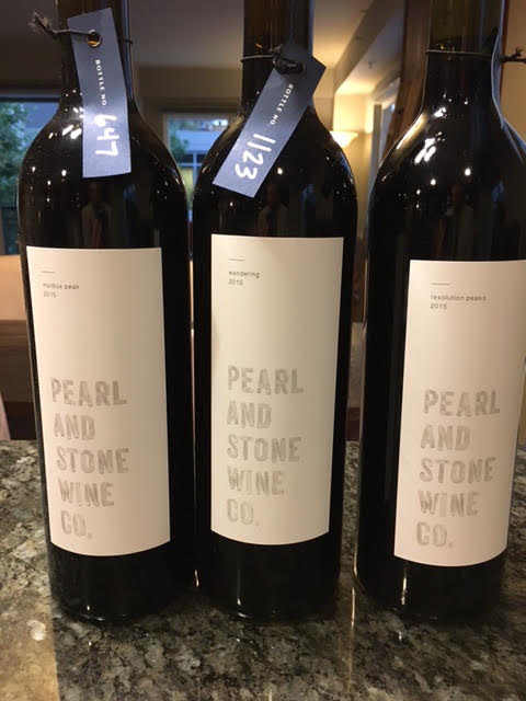 ed7d97843 2015 Pearl and Stone  Mailbox Peak  Red Wine- This wine is a blend of 45%  Merlot and 45% Cabernet Franc with the remainder Cabernet Sauvignon.