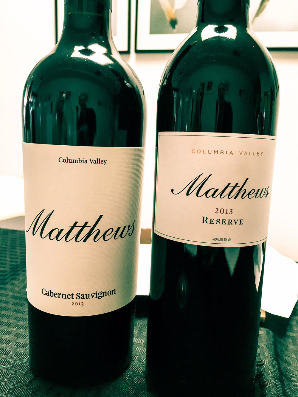 Gorgeous new Cabernet releases form the warm 2013 vintage by Matthews
