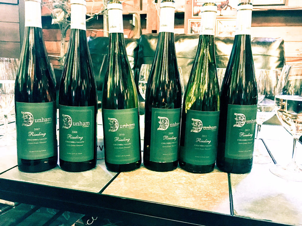 Dunham has crafted some outstanding Riesling wines that cellar marvelously.