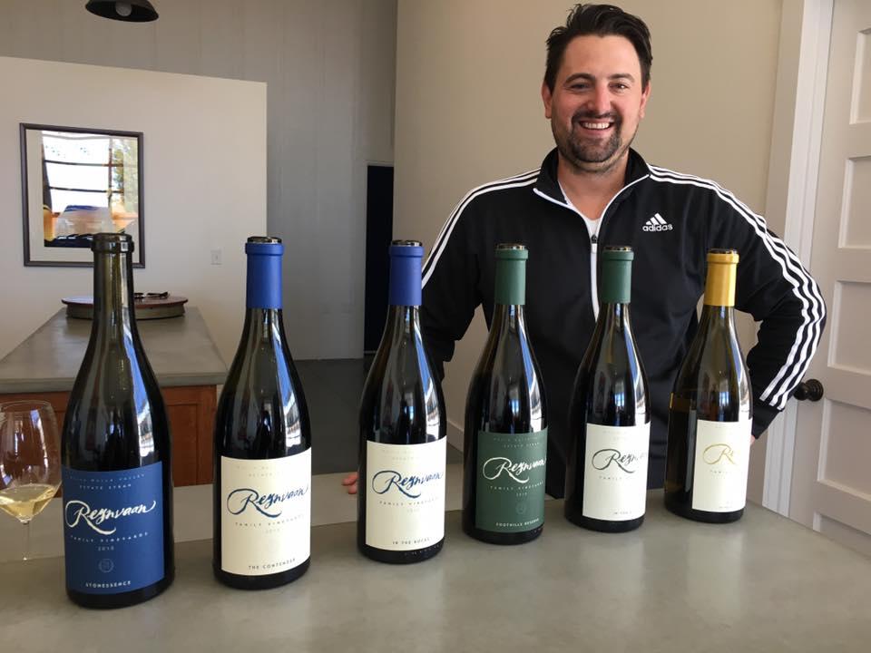 Superstar winemaker, Matt Reynvaan, crafts some gorgeous wines for Reynvaan Family Vineyards.