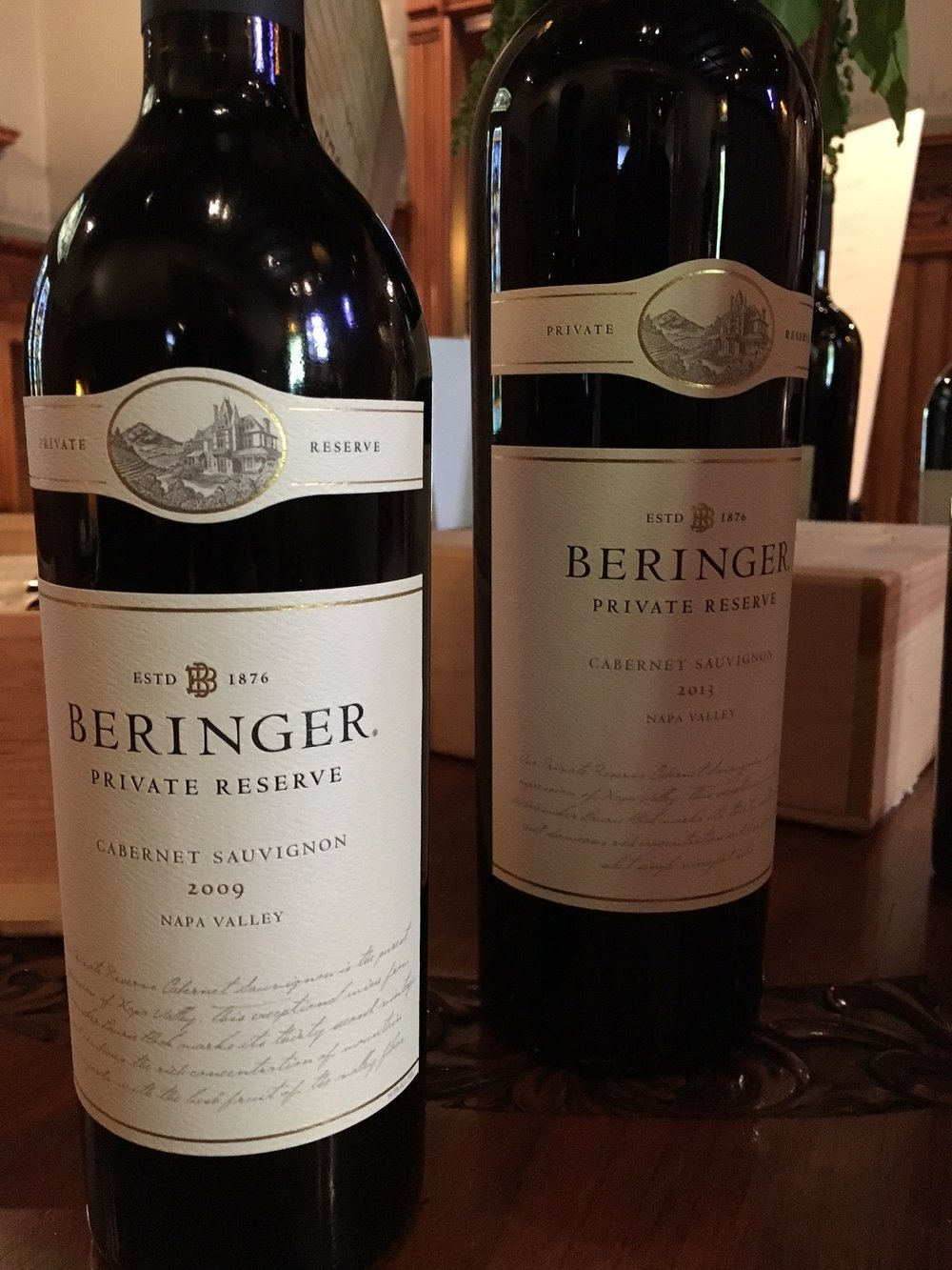 Beringer has gained an international reputation for their world class 'Private Reserve' Cabernets.