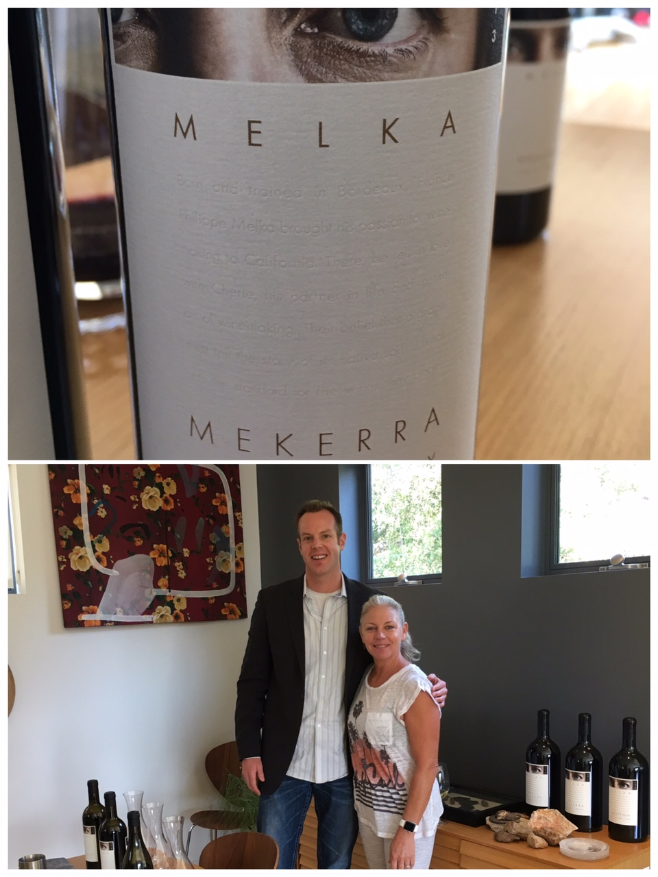 I had a great time hanging out with Cherie Melka, co-proprietor of Melka Wines.