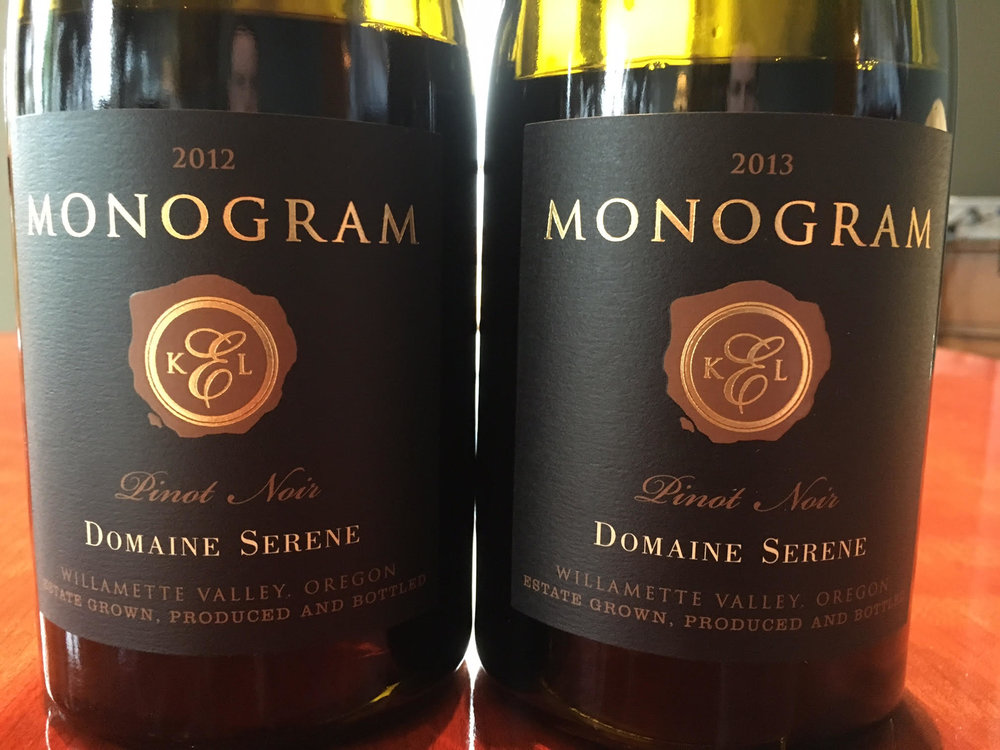 While not released yet, the 2013 Domaine Serene 'Monogram' Pinot Noir has a ton of potential. When I tried it, the wine was not yet quite as open as the intense and generous 2012 'Monogram' bottling.