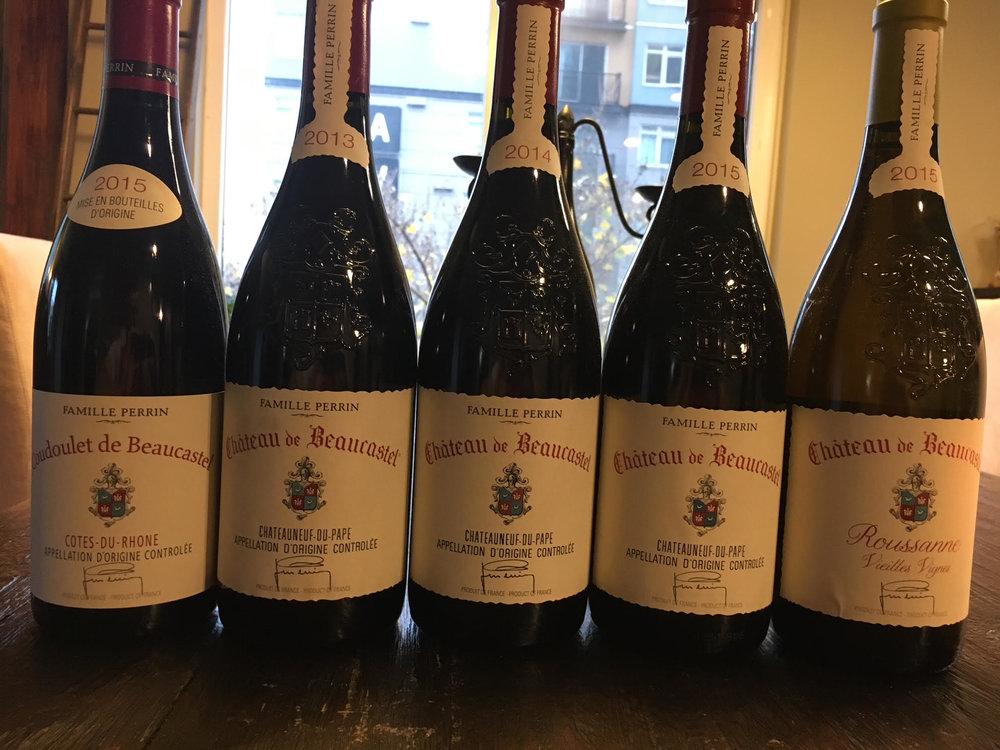 Chateau de Beaucastel 2017 releases.jpeg