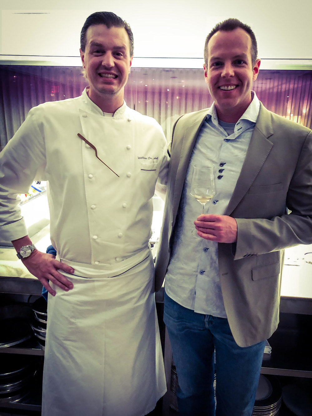It was a wonderful time hanging out with Chef William Crandle of Stripsteak, Miami.